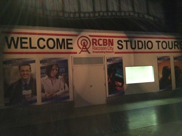 Les locaux des studios radio