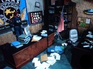Resident Evil 2 Astuces - Bureau de Wesker