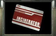Carte incinerateur Resident Evil 0