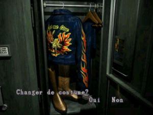 Resident Evil 2 Astuces - Costume de Claire