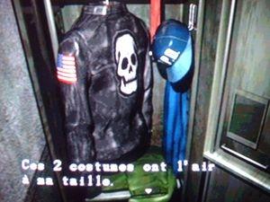 Resident Evil 2 Astuces - Costume de Leon