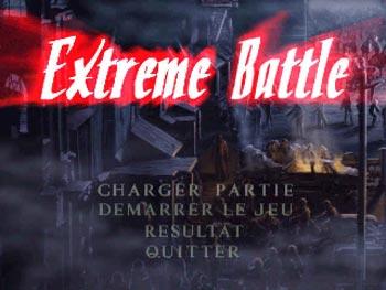 extreme battle resident evil 2