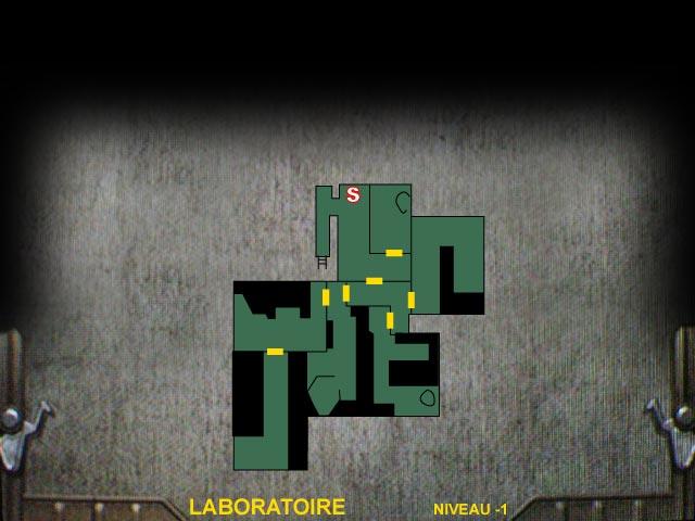 Laboratoire Niveau -1 Resident Evil 0