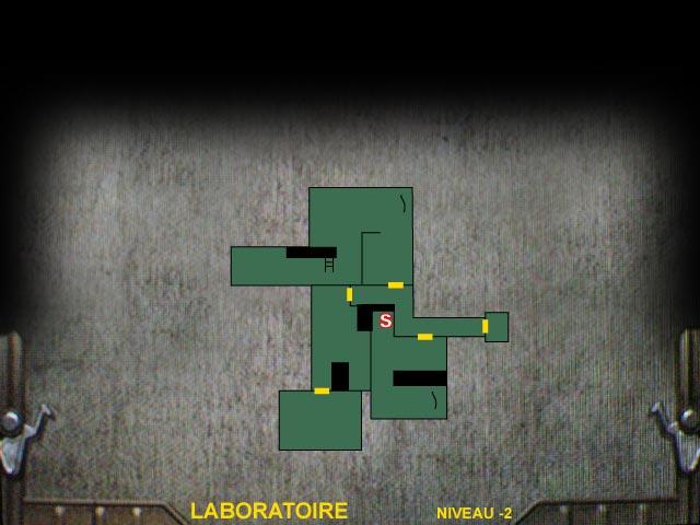 Laboratoire Niveau -2 Resident Evil 0