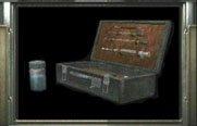 Substance chimique bleu Resident Evil 0