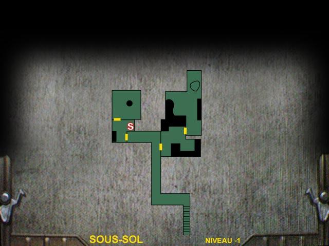 Sous-sol Niveau -1 Resident Evil 0