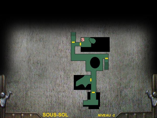 Sous-sol Niveau -2 Resident Evil 0