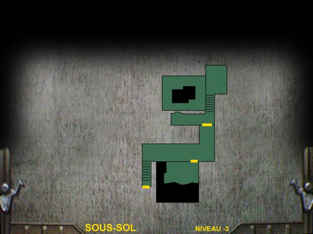 Sous-sol Niveau -3 Resident Evil 0