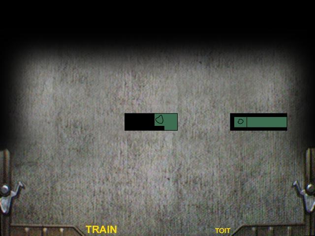 Train Toit Resident Evil 0