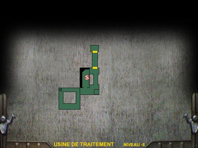 Usine de traitement Niveau -5 Resident Evil 0