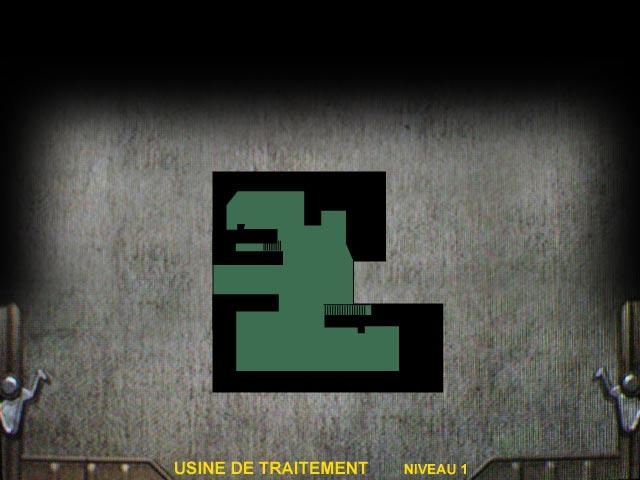 Usine de traitement Niveau 1 Resident Evil 0