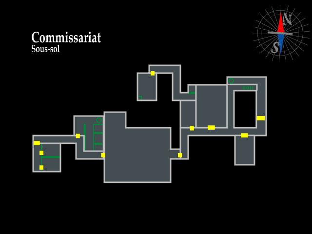 Resident Evil 2 – Commissariat sous-sol
