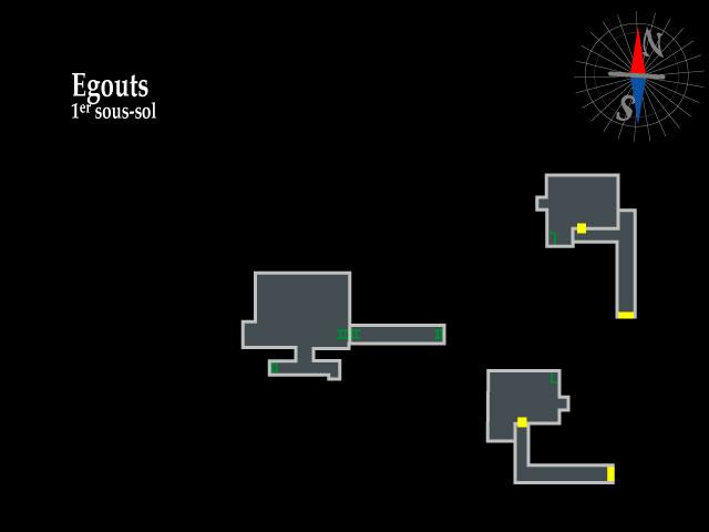Resident Evil 2 – Egouts 1er sous-sol