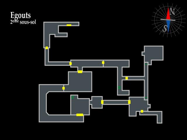 Resident Evil 2 – Egouts 2ème sous-sol