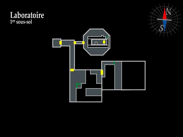 Resident Evil 2 – Laboratoire 1er sous-sol