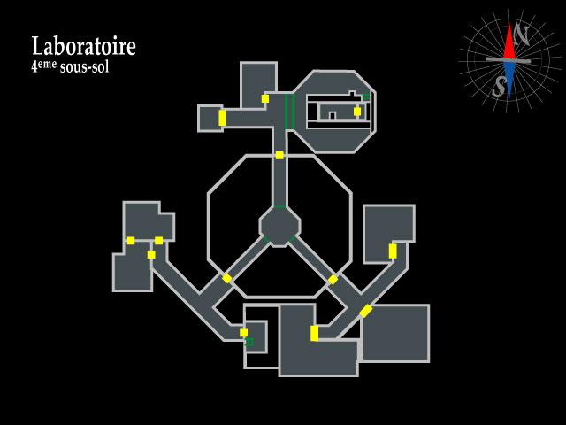 Resident Evil 2 – Laboratoire 4ème sous-sol