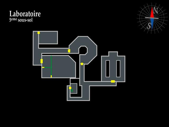 Resident Evil 2 – Laboratoire 5ème sous-sol