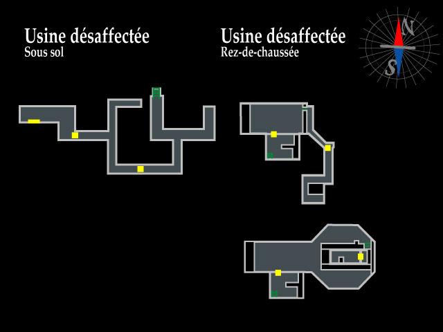 Resident Evil 2 – Usine désaffectée