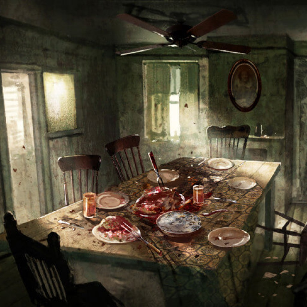 86 Resident Evil Dining Room Sneak Through The Kitchen And Dining Room Down Stairs Into