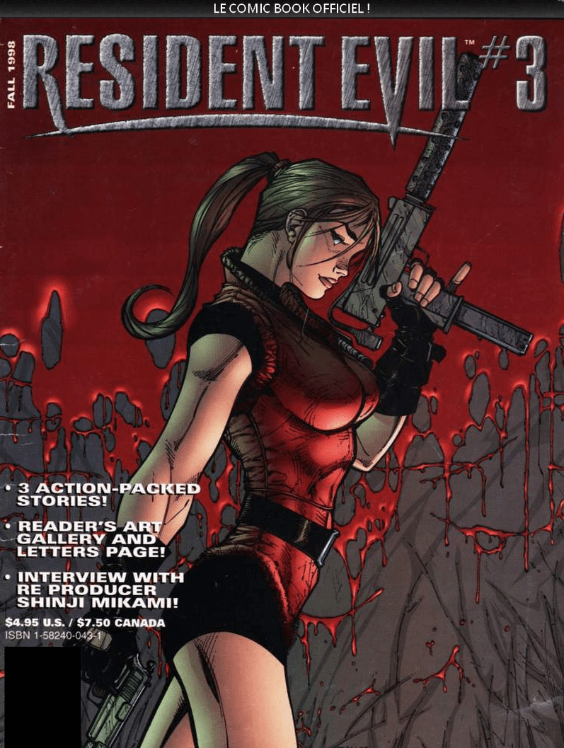 Comics Resident Evil