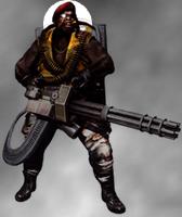Majini Gatling - Resident Evil 5