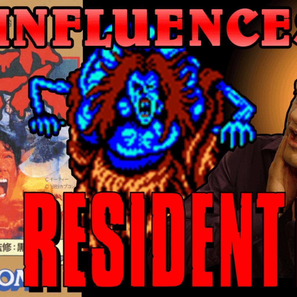 Les influences de Resident Evil - Sweet Home et le Manoir de l'Enfer