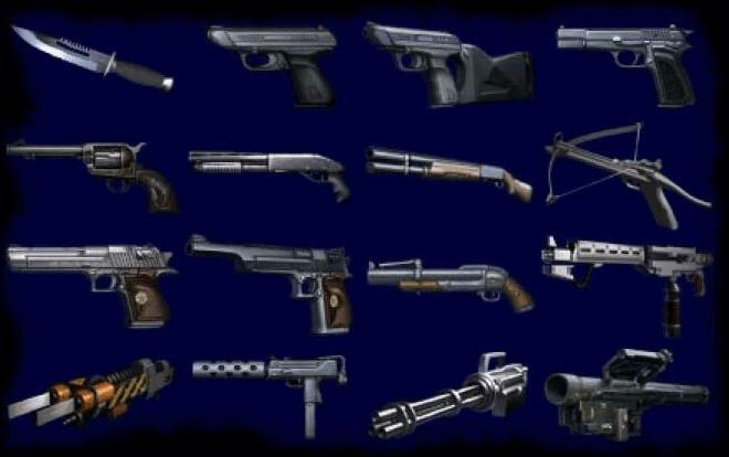 Resident Evil 2 – Toutes les armes