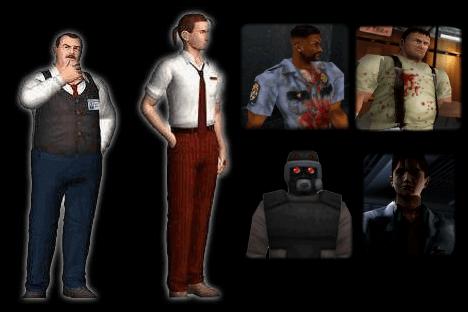 Resident Evil 2 – Les personnages secondaires