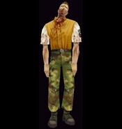 Resident Evil 2 - Brad Vickers (zombie)