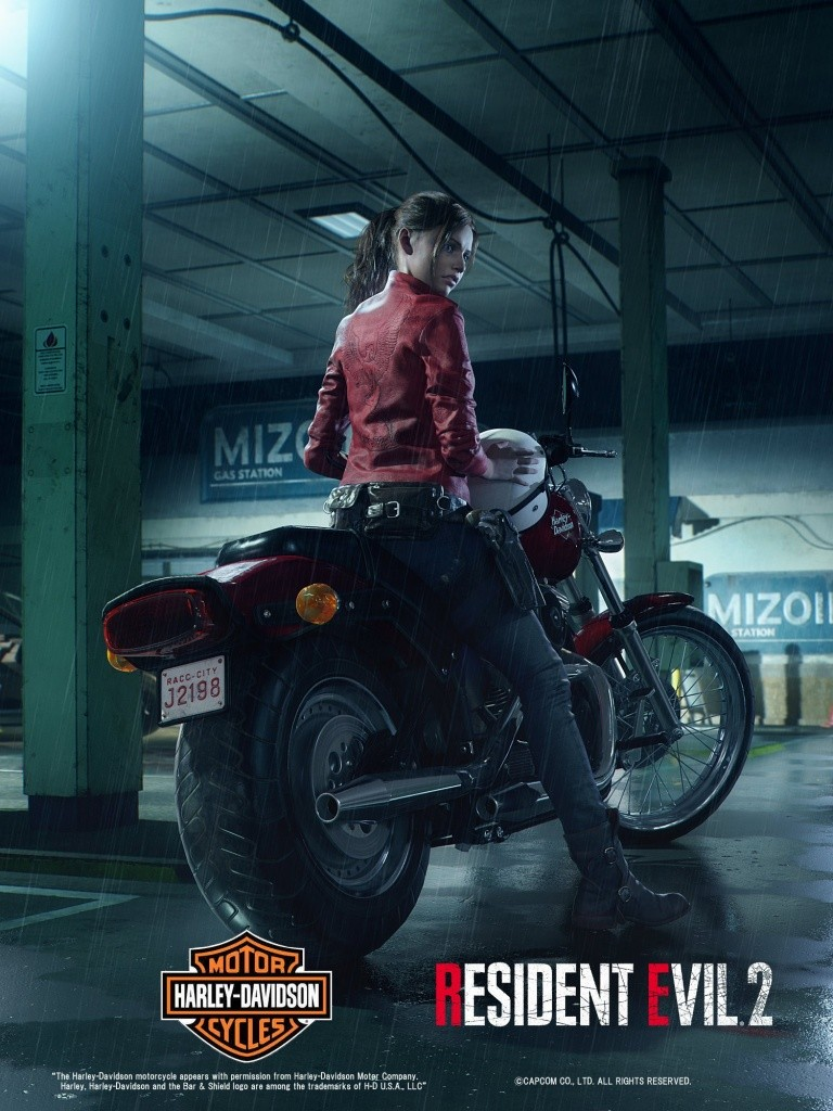 Resident Evil 2 Remake - Claire Redfield
