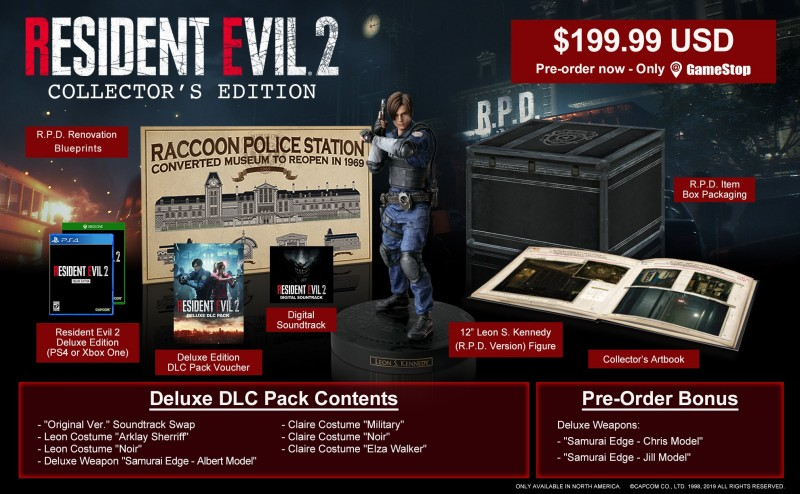 Resident Evil 2 Remake Edition Collector