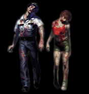 Resident Evil 2 - Zombies