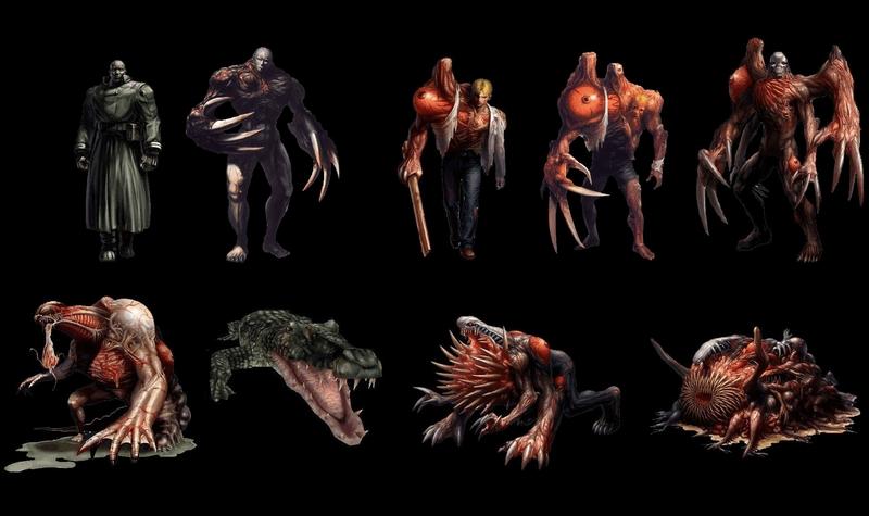 Resident Evil 2 – Les Boss