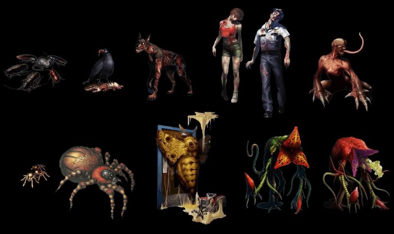 Resident Evil 2 – Les ennemis