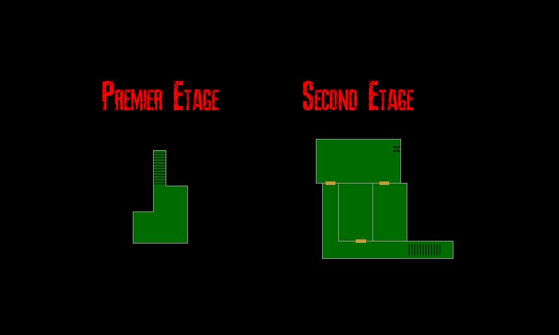 Resident Evil 7 – Plan de l'Annexe (Etages)