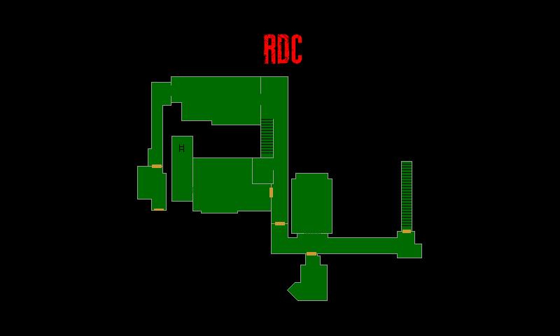 Resident Evil 7 – Plan de l'Annexe (RDC)