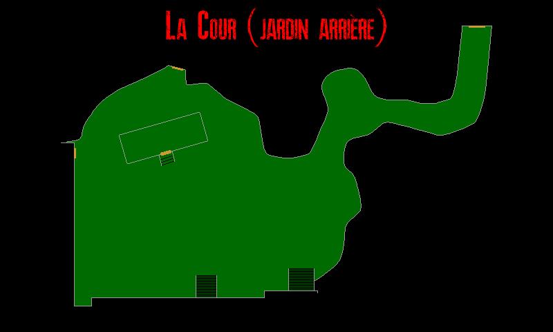 Resident Evil 7 – Plan de la Cour (Jardin arrière)