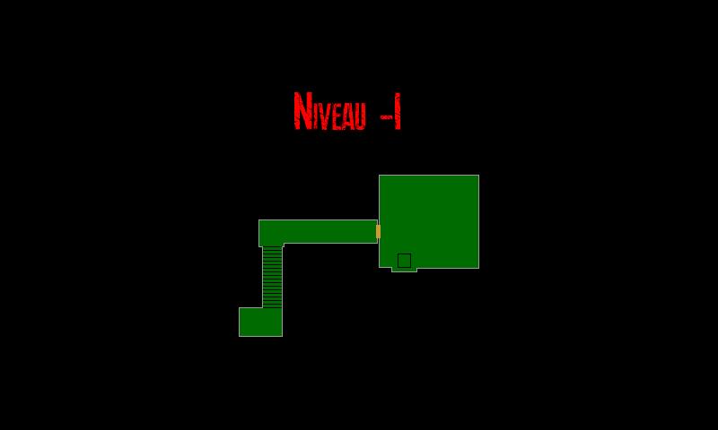 Resident Evil 7 – Plan de l'Epave du Navire (Niveau -1)