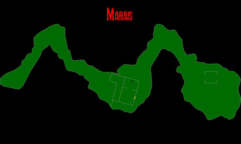 Resident Evil 7 – Plan des Marais (avant les Mines de Sel)