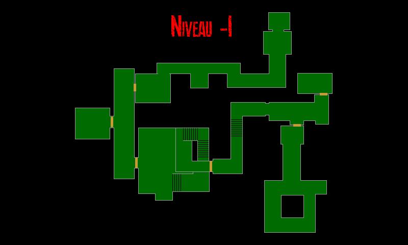 Resident Evil 7 – Plan du Navire (Niveau -1)