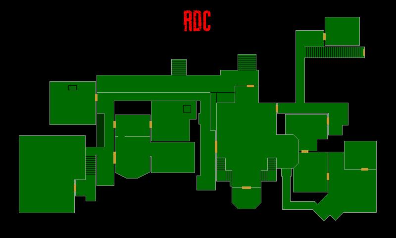 Resident Evil 7 – Plan de la Résidence Principale (RDC)