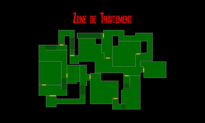 Resident Evil 7 – Plan de la Résidence Principale (Zone de Traitement)