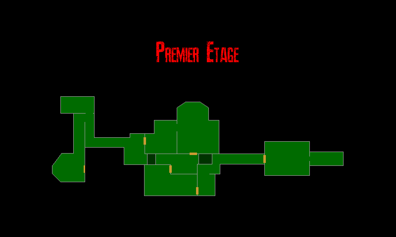 Resident Evil 7 – Plan de la Vieille Maison (Premier Etage)