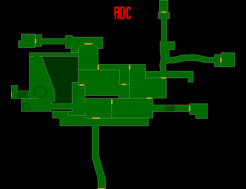 Resident Evil 7 – Plan de la Vieille Maison (RDC)