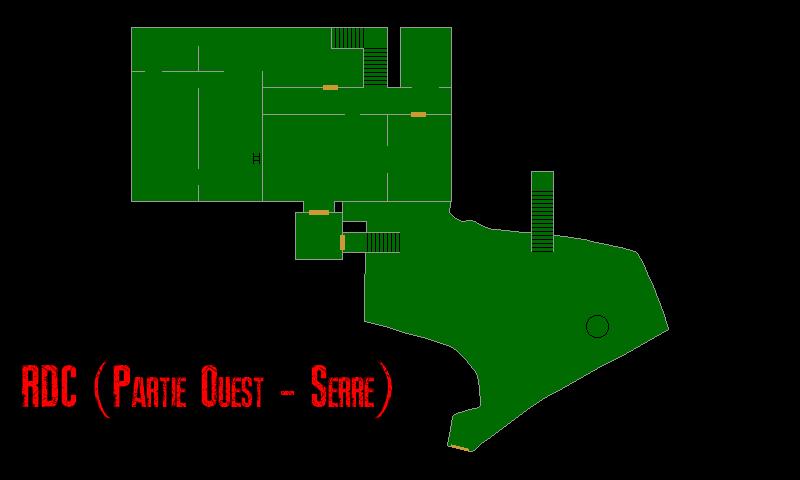 Resident Evil 7 – Plan de la Vieille Maison (RDC – Serre)
