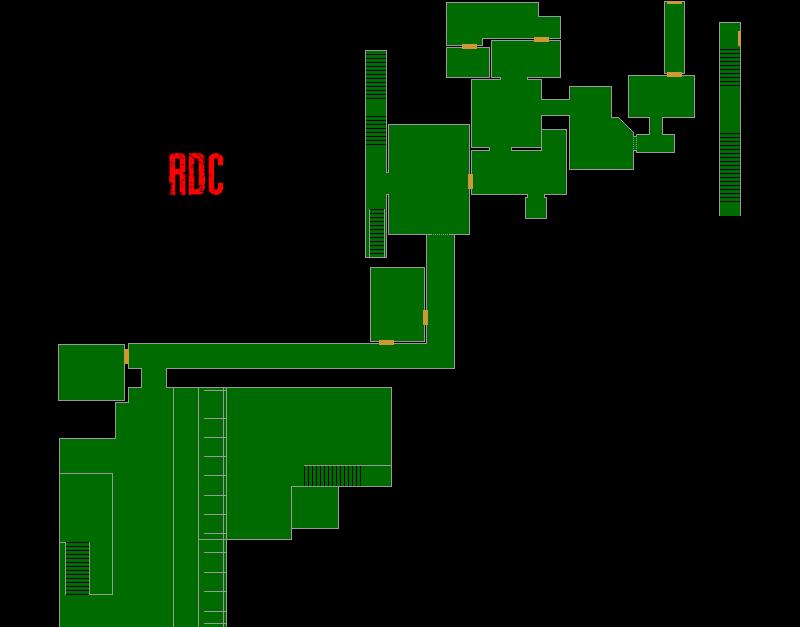 Resident Evil 7 – Plan de la Zone de Test (RDC)