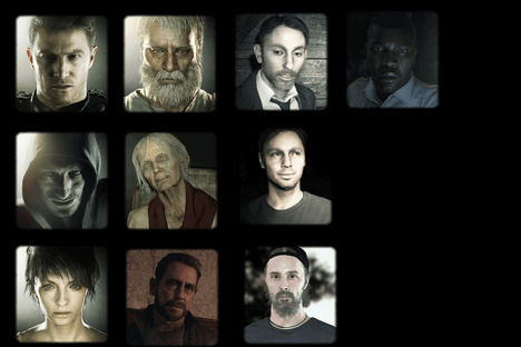 Resident Evil 7 – Personnages secondaires
