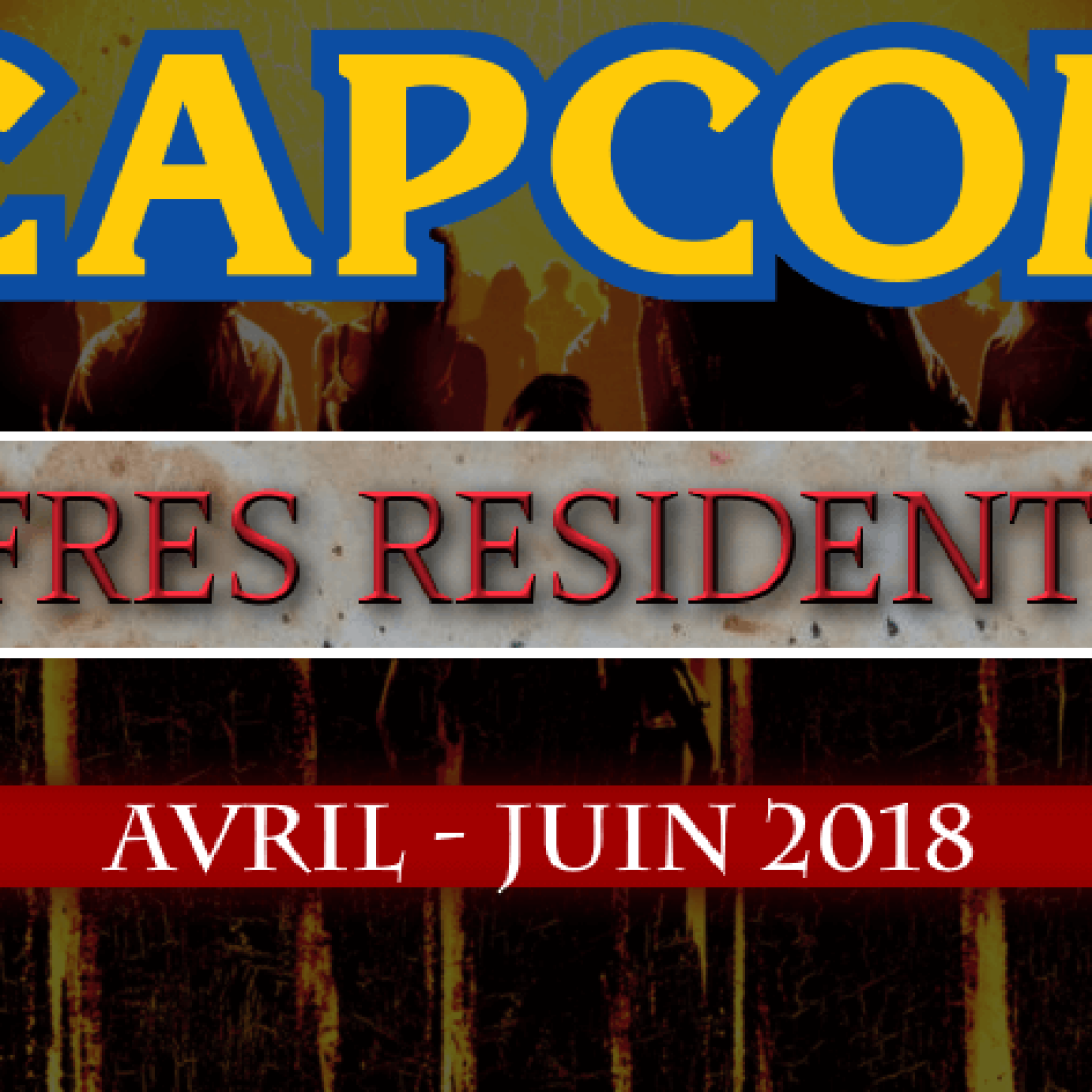 Ventes Resident Evil (entre Avril et Juin 2018)