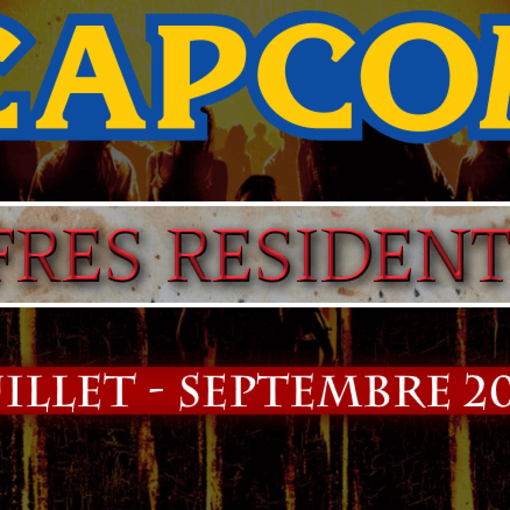 Ventes Resident Evil (entre Juillet et Septembre 2018)