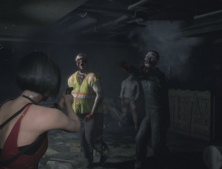 Resident Evil 2 Remake – Ada Wong VS Zombies